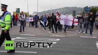 UK: Nationalist Activists Blockade Dover to Stop Immigration