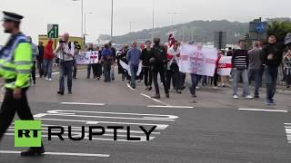 UK: Nationalist Activists Blockade Dover to Stop Immigration