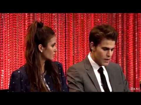 TVD Paley Fest Panel 2014 (Paul Wesley&Nina Dobrev)
