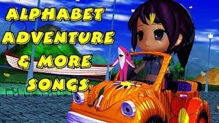 Alphabet ABC Long Road & More Songs | Kids Songs | Nursery Rhymes | Baby Songs | Children Songs
