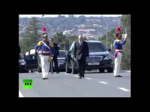 Владимир Путин прибыл в Бразилию