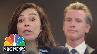 California Governor Says 'None Of This Is Easy' After State Health Director Resigns | NBC News NOW