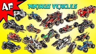Every Lego Ninjago Ninja & Villian CARS / VEHICLES - Complete Collection!