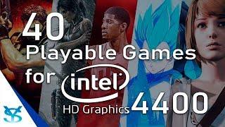 40 Juegos Jugables para Intel HD Graphics 4400