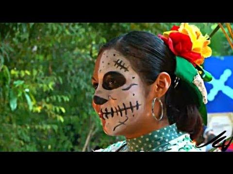 Day of the Dead in Mexico or Dia de los Muertos - YouTube