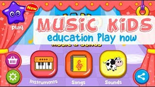 Piano children's music instrumental - learn music and songs for children Jingle bells 🎹🎶🎵