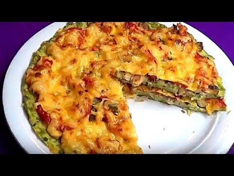 Пицца кабачковая. Очень простой рецепт.