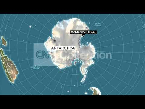 US COAST GUARD HELPS VESSEL IN ANTARCTICA (MAP)