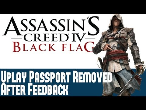 Assassins Creed 4 Black Flag News - AC 4 Uplay Passport Requirement Scrapped After Feedback - Info