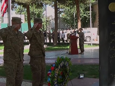 US Troops in Afghanistan Mark Memorial Day
