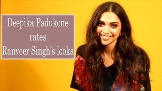 Deepika Padukone Rates Ranveer Singh's Looks | Deepika Padukone Interview | Filmfare