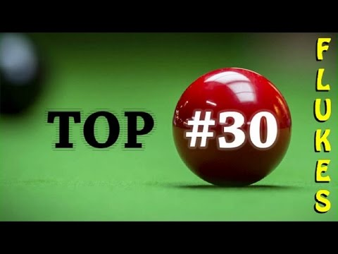 Top 30 flukes of World snooker championship 2016