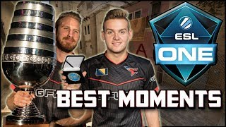 FaZe Clan Best Moments From ESL One New York 2017