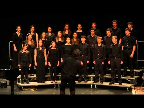 Falmouth Academy Boys and Girls Choir Feb. 2014 - Rockin' Jerusalem