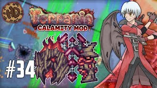 SUPREME CALAMITAS DEFEATED? & DEMONSHADE ARMOR! Terraria Calamity Let's Play | 1.3.5 Death Mode #34