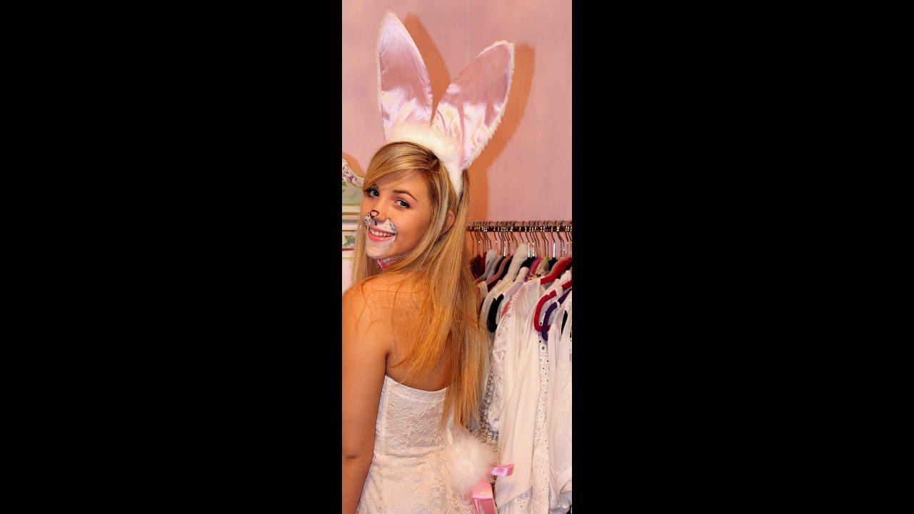 Bunny Rabbit Halloween Face Makeup Cute Bunny Halloween Makeup