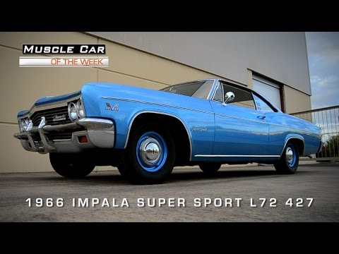 Muscle Car Of The Week Video #67: 1966 Chevrolet Impala Super Sport 42