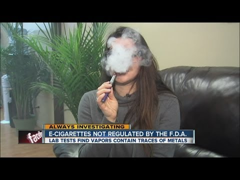 Tests find danger inside e-cigarettes