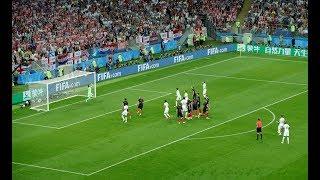 Kieran Trippier WONDERFUL FREE-KICK GOAL! Croatia 0-1 England | 11/07/2018 #WorldCup