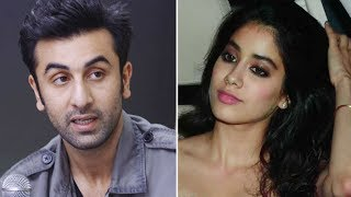 Jhanvi Kapoor TRIES to GRAB Ranbir Kapoor's ATTENTION at a party!