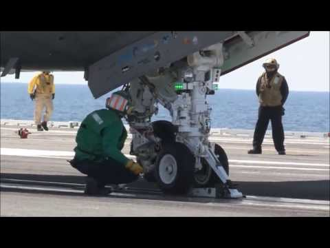X-47B UCAS-D First Catapult Launch from USS George H.W. Bush (CVN-77)