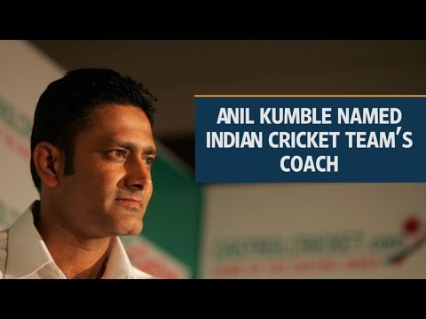 Anil Kumble named Indian cricket team's coach for next one year
