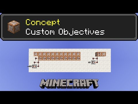 Custom Scoreboard Objectives Minecraft Concept