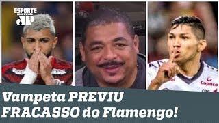 """""""Vai ficar no cheirinho!"""" Vampeta previu FRACASSO do Flamengo!"""