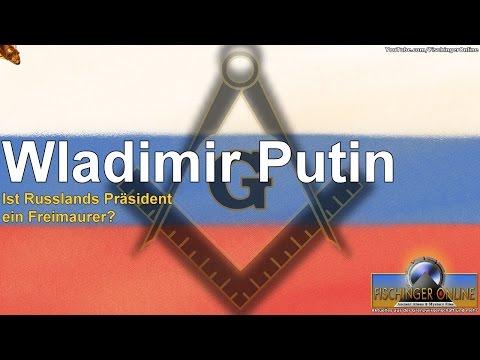 Wladimir Putin: Ist Russlands Präsident ein Freimaurer? (Putin hat heute auch Geburtstag)