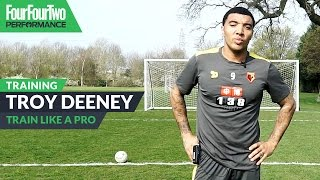 Troy Deeney | Essential shooting drill | Train Like a Pro