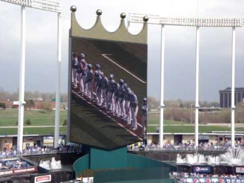 2010 Royals Roster & Opening Day Lineup Video