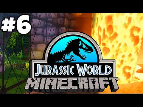 Jurassic World: Minecraft Dinosaurs | MINING ADVENTURES (Playthrough Part 6)