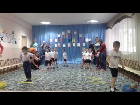 СПОРТИВНЫЕ ИГРЫ в детском саду ,посвящённые 23 февраля!!!Победила ДРУЖБА
