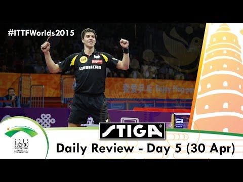 2015 World Table Tennis Championships Day 5 Daily Review presented by Stiga