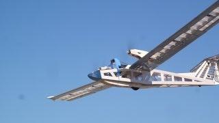 GEMINI ENDURANCE RECORD/FLIGHT TESTING/ADVANCED LONG RANGE FPV PLANE