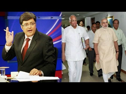The Newshour Debate: NCP-BJP 'tacit' pact? (20th Oct 2014)