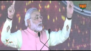 Shri Narendra Modi addresses Hunkaar Rally Gandhi