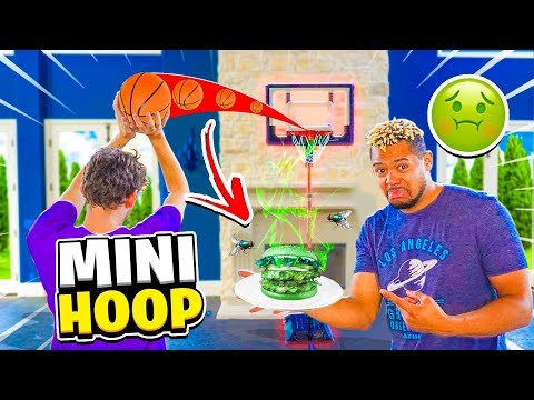 Make This SHOT or EAT the PLATE 2HYPE Basketball Challenge !!