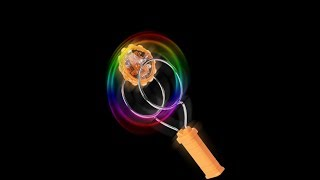Magnetic Gyro Wheel Magic Spinning Top LED  Yoyo Classic Toy