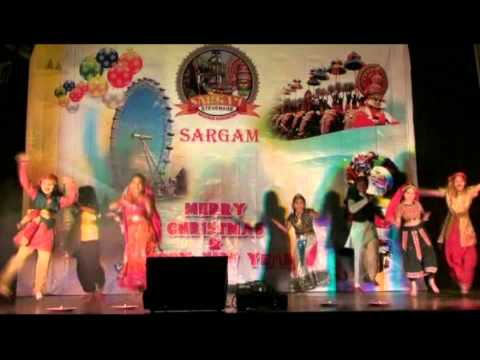Sargam Stevenage Xmas New Year 2011-12 Kids Dance ud Jab Jab From The Hindi Film naya Daur video