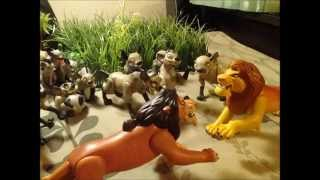 New lion king action figures