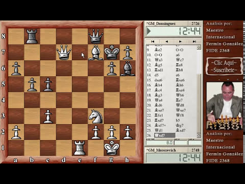 Morozevich vs Leinier FIDE Grand Prix Tashkent 2012 chess FIDE Grand Prix 2012