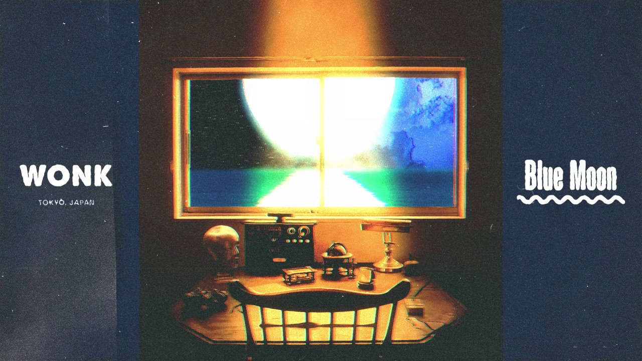 "WONK - ""Blue Moon""の試聴音源を公開 (Audio Visual: PERIMETRON) 新譜EP「Moon Dance」2019年7月31日発売 thm Music info Clip"