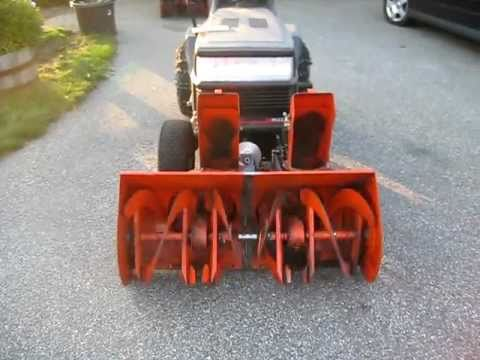 Home Made Custom Snowblower Youtube