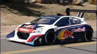 Pikes Peak Hill Climb 2013 - Sébastien Loeb / Peugeot 208 T16 [Onboard/Helicopter/Spectators Views]