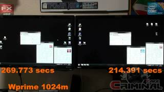 Stock AMD FX - 8350  vs Stock Intel i7 3770K