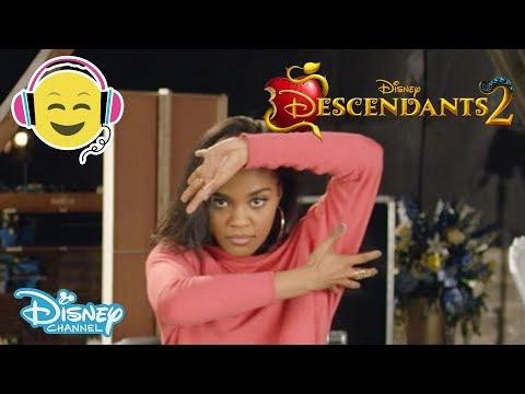 Descendants 2 | What's My Name: Dance Tutorial | Official Disney Channel UK