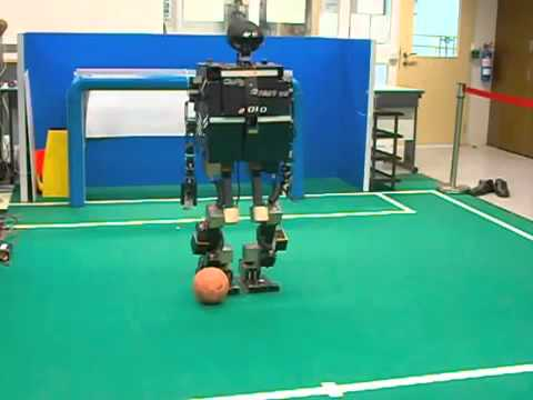 RoboCup 2010 Humanoid AdultSize Qualification Video