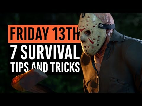 Friday the 13th: The Game | 7 Survival Tips