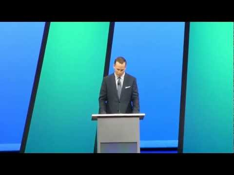 Peyton Manning @ IBM Pulse 2013 1 of 2
